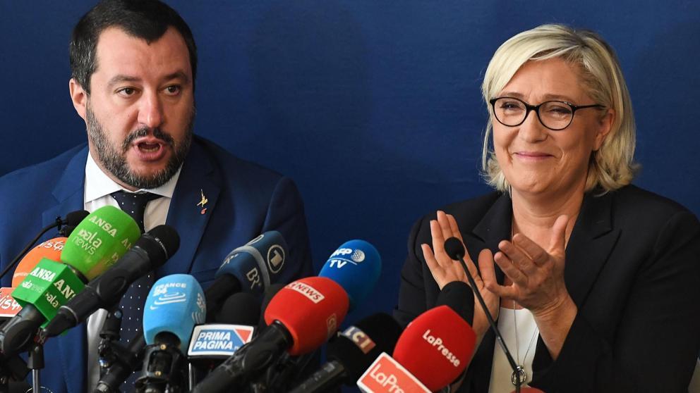 Los rostros de la extrema derecha en Europa